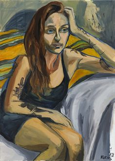 You May Know Her as Jessa on GIRLS, But Jemima Kirke Is Also A Talented Artist. | if it's hip, it's here