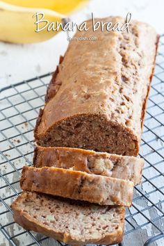 No need for added sugar with the natural sweetness of bananas and honey in this sugar-free banana bread. Ready in about 1 hour and 15 minutes.