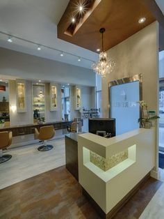 "Captivated by elements of nature, Markham, Ont. Pure Self Salon N Spa salon owners Sam and Englika Wadera collaborated with Lanvain Design to channel a natural, soothing salon and spa experience for their guests. ""Most Aveda salons I've visited incorporate cool tones into the interior design..."
