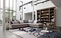 Living Room Inspiration: 120 Modern Sofas by Roche Bobois (Part 3/3) | HomeDSGN, a daily source for inspiration and fresh ideas on interior design and home decoration.