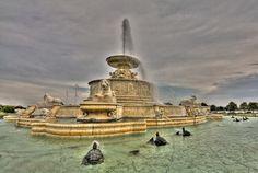 Uno spettacolo di fontana: ecco le più belle del mondoScott Fountain, Belle Isle