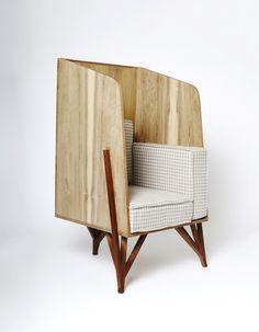 Celina reading chair Poltrona Celina Design Paulo Alves Photo Victor Affaro