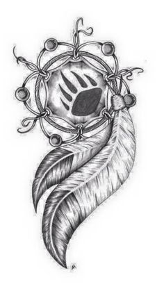 Tribal Dreamcatcher but it will have a deer track.