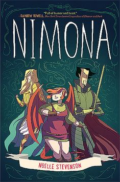 Noelle Stevenson's Nimona is a joy to read. I laughed my way through this unusual adventure fantasy, which had enough emotional depth and action scenes to keep it from being too arch to take …