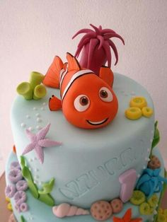 Cute Nemo cake!