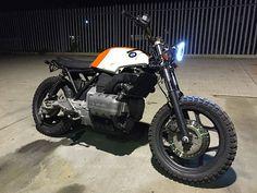 BMW custom K75 Scrambler / brat bike / flat tracker / bobber - NOW SOLD | eBay