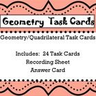 This is a set of 24 Geometry task cards.  They are aligned to the third grade Geometry common core standard:  MCC3.G.1.  These task cards discuss d...