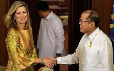 Queen Maxima visits Philippines - 1st Day