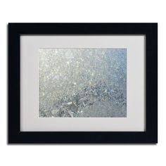 "Found it at Wayfair - ""Frost Pattern Sun Stars"" by Kurt Shaffer Framed Photographic Print"