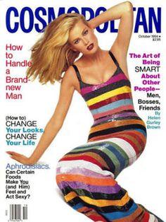 Cosmopolitan magazine, OCTOBER 1994  Model: Meghan Douglas Photographer: Francesco Scavullo
