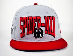 Red & grey SPIDER-MAN snapback (have to show my friend this, well .. I thought we were friends. So nevermind -.- )