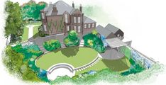 Golf Courses, Mansions, House Styles, Projects, Home Decor, Log Projects, Blue Prints, Decoration Home, Manor Houses