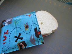 diy reusable snack bags