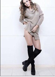 Bucaneras. Eduardo Zapatero. Sweaters, Shoes, Dresses, Fashion, Over Knee Socks, Women, Vestidos, Moda, Zapatos
