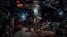 Metro Last Light Metro Last Light, Metro 2033, Science Fiction, Steampunk City, Apocalypse Art, Metro Station, Environment Concept Art, Sci Fi Movies, Visual Development