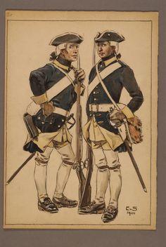 Indelta linjeinfanteriet 1765 by Einar von Strokirch