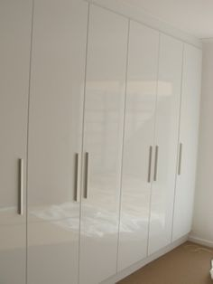 high gloss duco spray built in cupboards designs