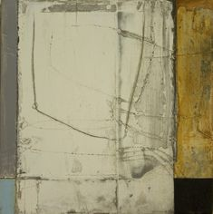 Cheryl Taves, Bridges and Crossings no.3, mixed media on paper mounted on panel, 12 x 12 inches, 2011