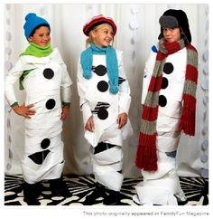 """Do you wanna build a Snowman?"" game Frozen Birthday Party Game Ideas"