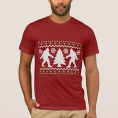 Ugly Holiday Bigfoot Christmas Sweater - click to get yours right now!