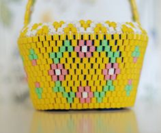 Flower Crown basket from HEJSAN GOODS' Easter collection.