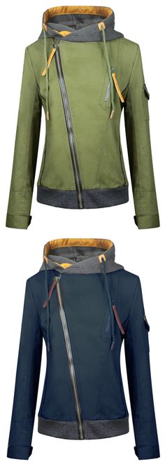 Zip Up Front Hood Jacket This is the jacket we've been dreaming about (so, naturally, we had to make it). Discover more at FIREVOGUE.COMThis is the jacket we've been dreaming about (so, naturally, we had to make it). Discover more at FIREVOGUE. Looks Style, Looks Cool, Style Me, Look Fashion, Winter Fashion, Fashion Outfits, Fashion Trends, Outdoor Girl, Modelos Plus Size