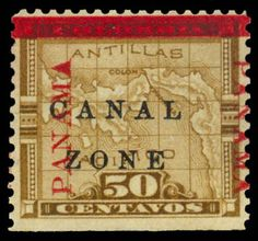 Canal Zone, Panama, ( Colombia ), 1906