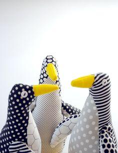 Molly's Sketchbook: Purl Bee Penguin