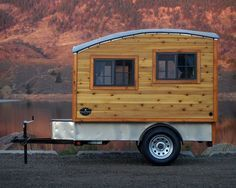 Casual Turtle Campers The Terrapin: Handmade wooden camper is a home of simplicity http://www.treehugger.com/tiny-houses/terrapin-handmade-wooden-camper-casual-turtle-campers.html