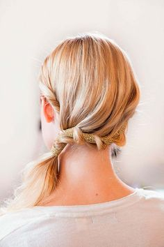 Ways to Wear Ribbon Hairstyles #RibbonHairstyles