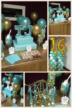 Turqoise lilac balloon decoration mint green purple for Balloon decoration color combinations