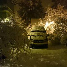 Ny on lunta. #lumi #snow #ensilumi #talvi #winter #nofilter #valkeakoski #vw #volkswagen #vwtransportert4 #vwt4 #hightop #t4 by harri_vanhala @ Instagram: http://ift.tt/1MGO0t6