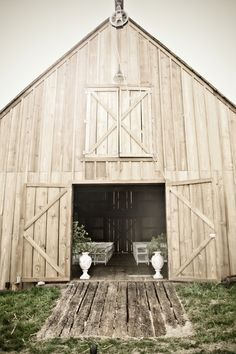 "I want a ""getaway"" barn.  A place away from the house to relax and get away from reality."