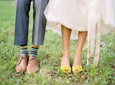 {chelsea and tec} wedding - tennessee - Jose Villa Fine Art Weddings Yellow Wedding Shoes, Yellow Shoes, Wedding Colors, Wedding Styles, White Shoes, Have A Lovely Weekend, Gray Weddings, Southern Weddings, Groom Style