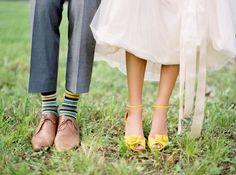{chelsea and tec} wedding - tennessee - Jose Villa Fine Art Weddings Yellow Wedding Shoes, Yellow Shoes, Wedding Colors, Wedding Styles, White Shoes, Summer Wedding, Dream Wedding, Wedding Fun, Perfect Wedding