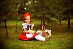 красная шапочка фотосессия для девочки - Поиск в Google