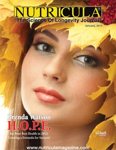 January 2013 Nutricula Magazine cover