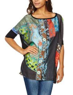 Desigual Women's Caracas Dolman Sleeve Blouse 27t2573