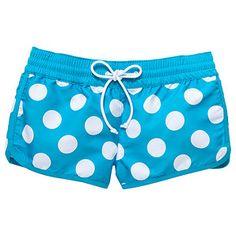 Girls' Board Shorts - Spot Print