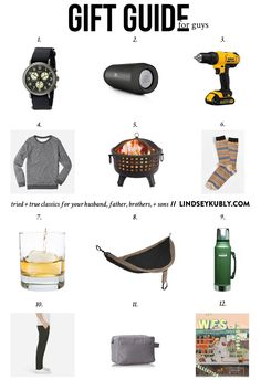 gifts for HIM that won't disappoint (or get returned!)