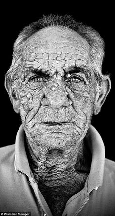 Austrian photographer Christian Stemper has captured the faces and tales of the fishermen of Paros, in Greece, who are likely to be the last of generations to fish the seas around their island Black And White Portraits, Black And White Photography, People Photography, Portrait Photography, Foto Portrait, A Wrinkle In Time, Old Faces, Fishing Photography, Face Expressions