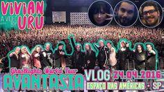 ♪ VLOG || AVANTASIA @ Espaço das Américas | São Paulo • Vivian Uru ♪  #youtube #youtubechannel #youtuber #avantasia #avantasiashow #avantasiagig #avantasiaconcert #avantasiatour #ghostlights #ghostlightstour #powermetal #operametal #vivianuru #viviuru #vivsuru #vivuru #viuru