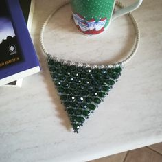 My lovely makramé necklace Cuff Bracelets, Jewellery, Jewels, Jewlery, Bangles