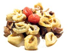 @ILPUNTO  I'd recommend heir tortellini ($22) ai porcini. These small pasta squares filled with a sage seasoned blend of beef, mushrooms and shallots came with grape tomatoes and porcini mushrooms — all  drizzled with a truffle imbibed extra virgin olive oil.