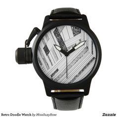 Retro Doodle Watch