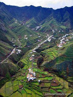 Taganana, pueblo del macizo de Anaga  (fotosaereasdecanarias.com)