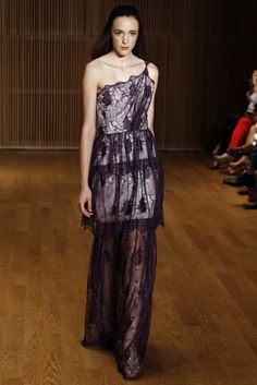 Douglas Hannant RTW Spring 2014 [Photo by George Chinsee]