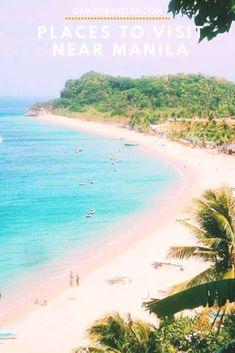 12 Amazing Places to Visit Near Manila (Affordable Getaways Near Manila) - Gamintraveler Philippines Travel Guide, Philippines Beaches, Manila Philippines, Visit Philippines, Cool Places To Visit, Places To Travel, Travel Destinations, Places To Go, Asia Travel