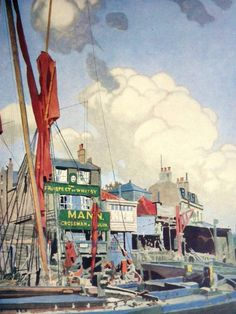 '' The Prospect Of Whitby '' by Charles Pears. December 1933: The Tatler.