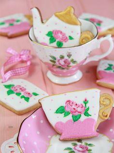Galletas decoradas: técnica de galletas pintadas